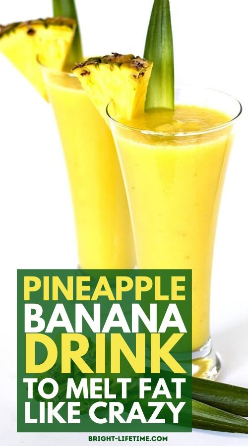 delicious-pineapple-banana-drink-for-weight-loss