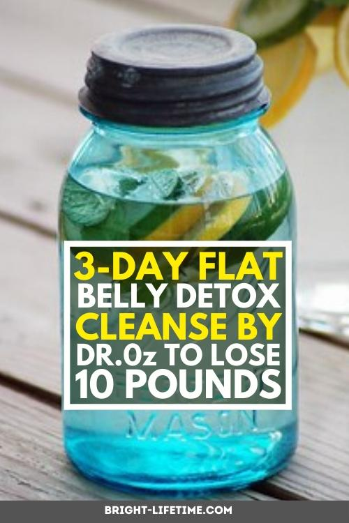 three-day-detox-for-flat-belly